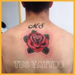 La Rosa: simbolo tattoo